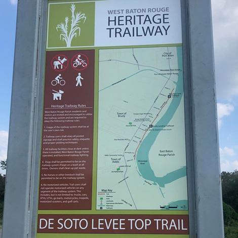 West Baton Rouge Heritage Trailway - West Baton Rouge Louisiana