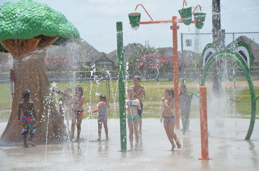 Splash Pads - West Baton Rouge Louisiana